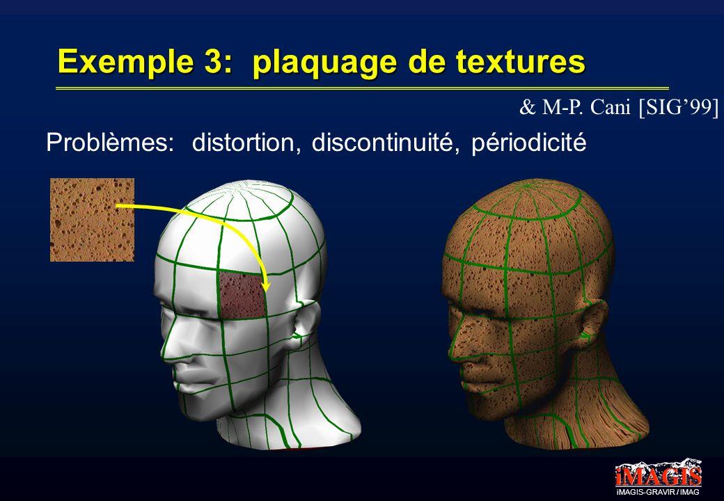 Exemple 3: plaquage de textures