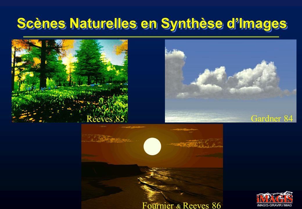 Scènes Naturelles en Synthèse d'Images