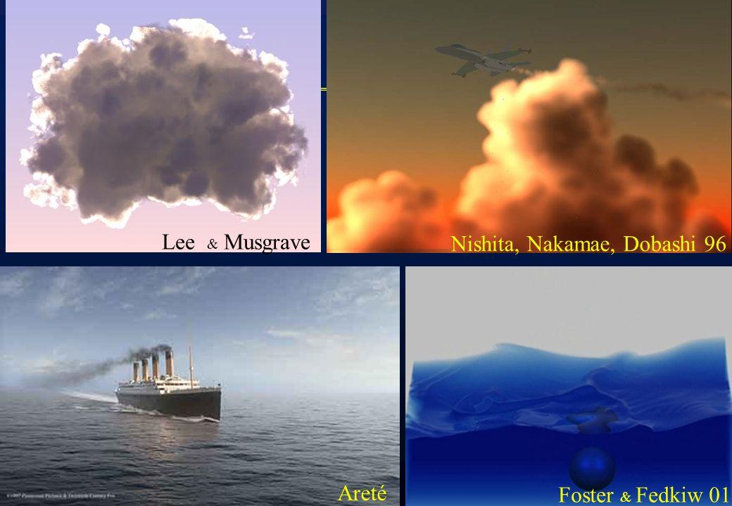 Lee & Musgrave Nishita, Nakamae, Dobashi 96 Areté Foster & Fedkiw 01
