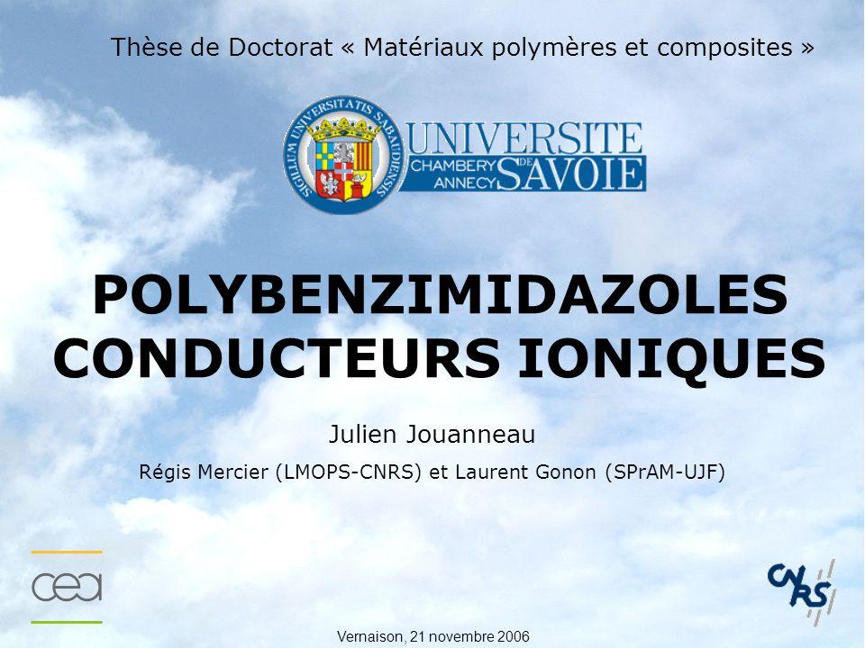 POLYBENZIMIDAZOLES CONDUCTEURS IONIQUES