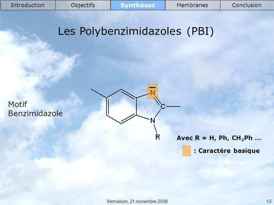Les Polybenzimidazoles (PBI)