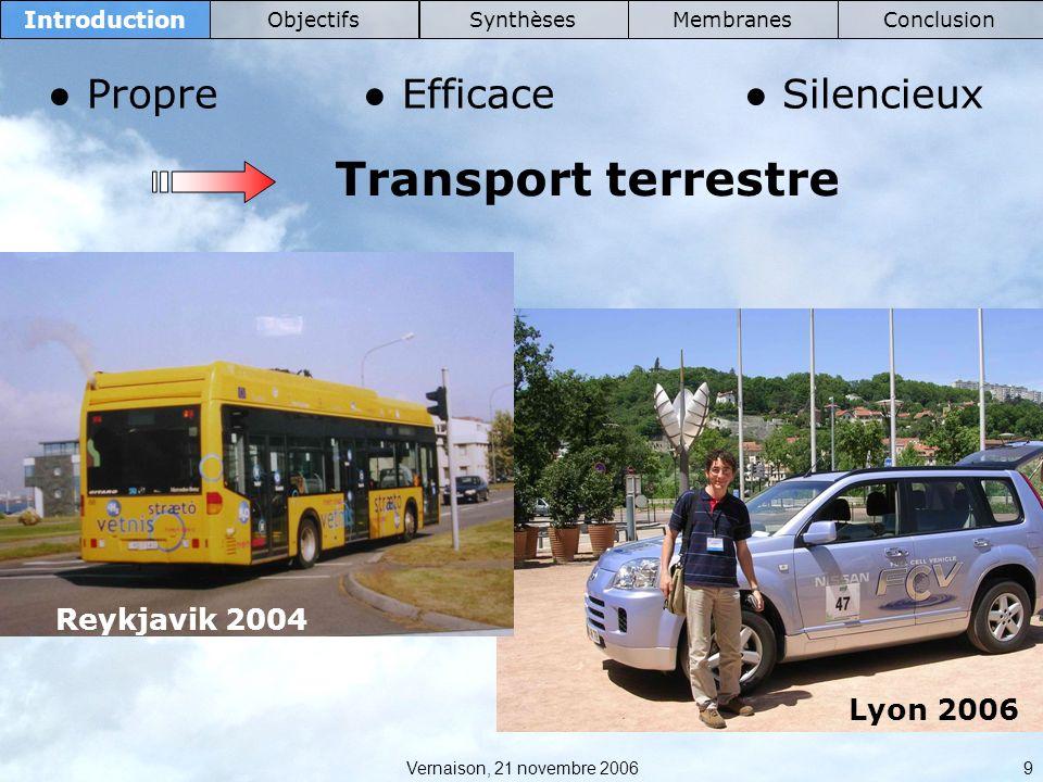 Transport terrestre ● Propre ● Efficace ● Silencieux Reykjavik 2004