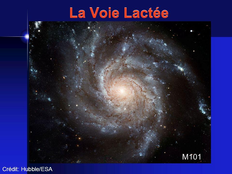 La Voie Lactée M101 Crédit: Hubble/ESA