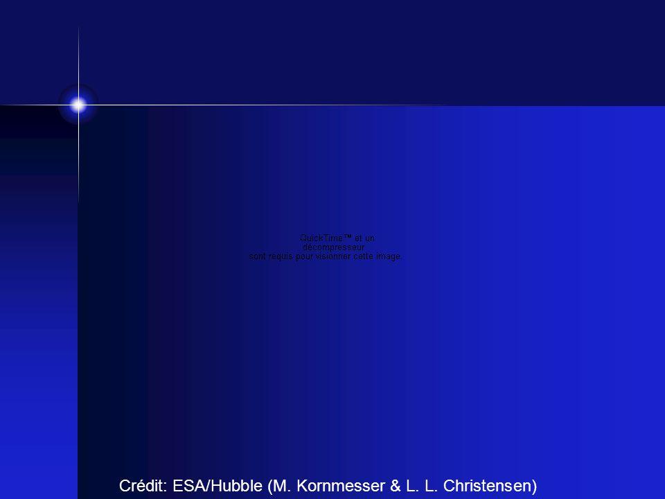 Crédit: ESA/Hubble (M. Kornmesser & L. L. Christensen)