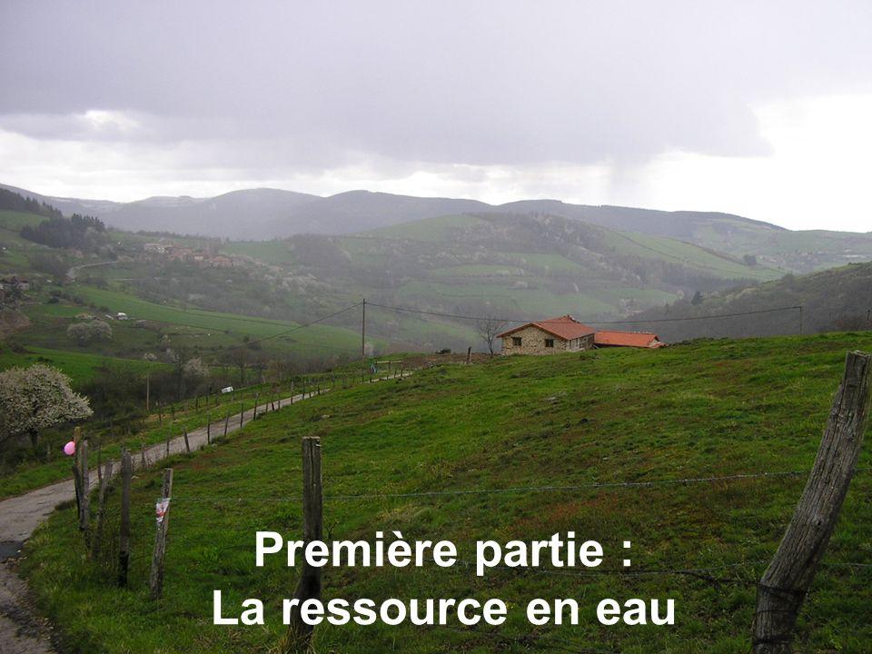 Première partie : La ressource en eau