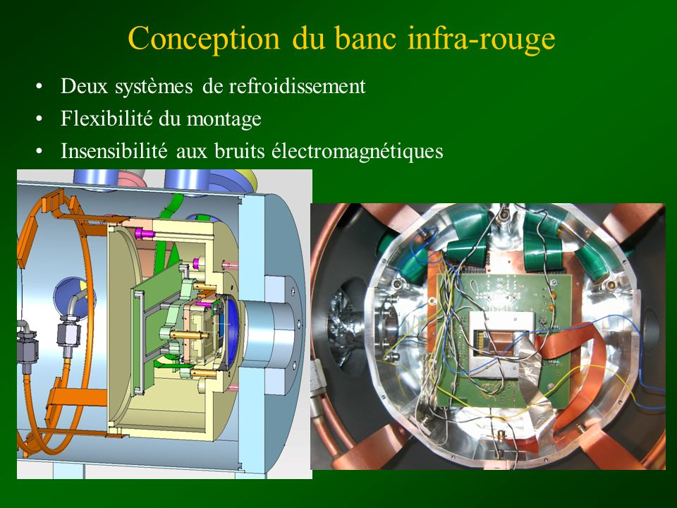 Conception du banc infra-rouge