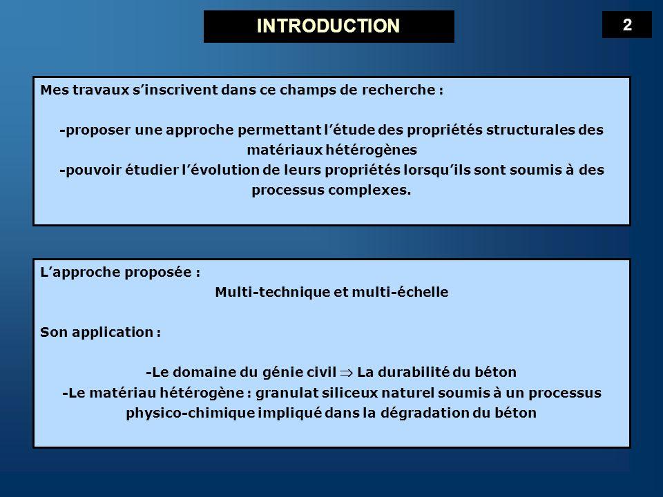 INTRODUCTION 2 Mes travaux s'inscrivent dans ce champs de recherche :