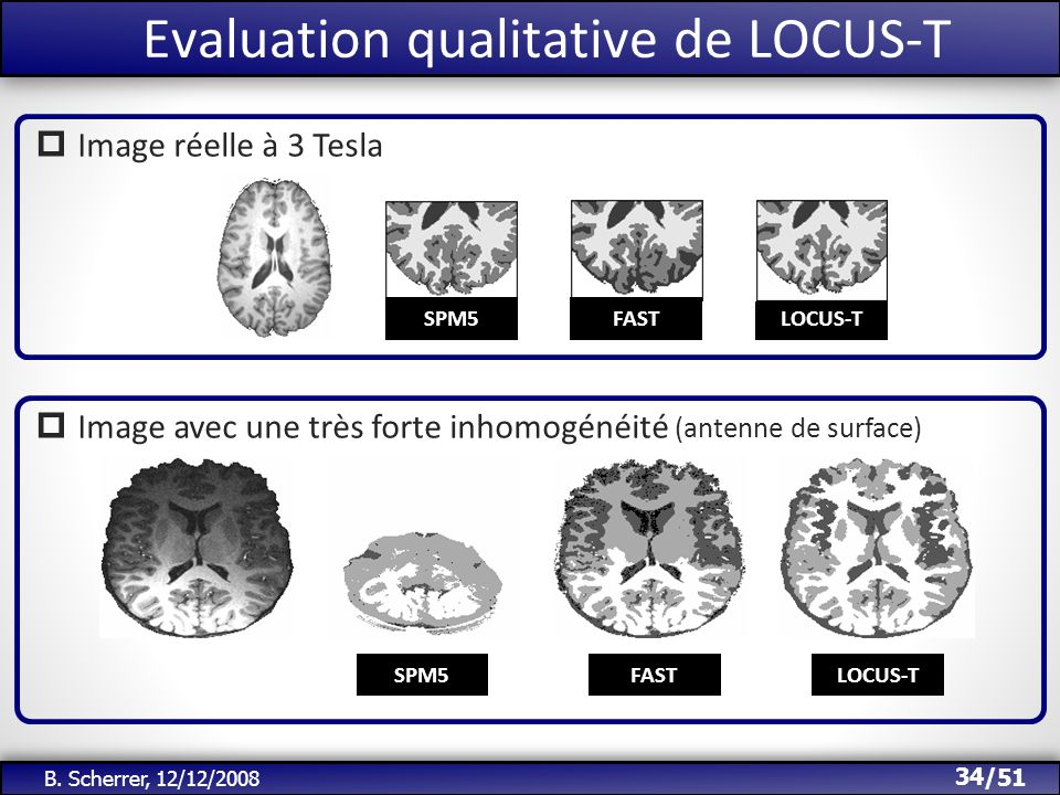 Evaluation qualitative de LOCUS-T