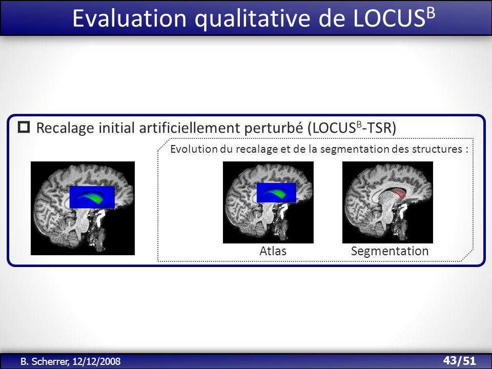 Evaluation qualitative de LOCUSB
