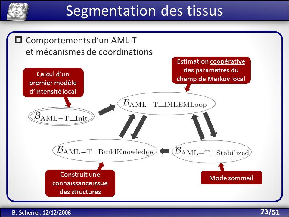 Segmentation des tissus