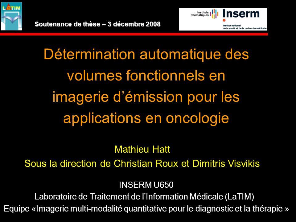 Soutenance de thèse – 3 décembre 2008