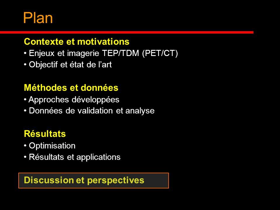 Plan Contexte et motivations Méthodes et données Résultats