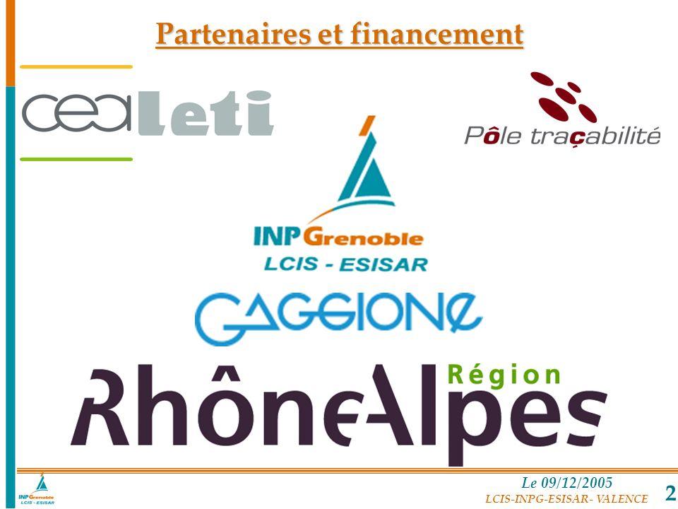 Partenaires et financement