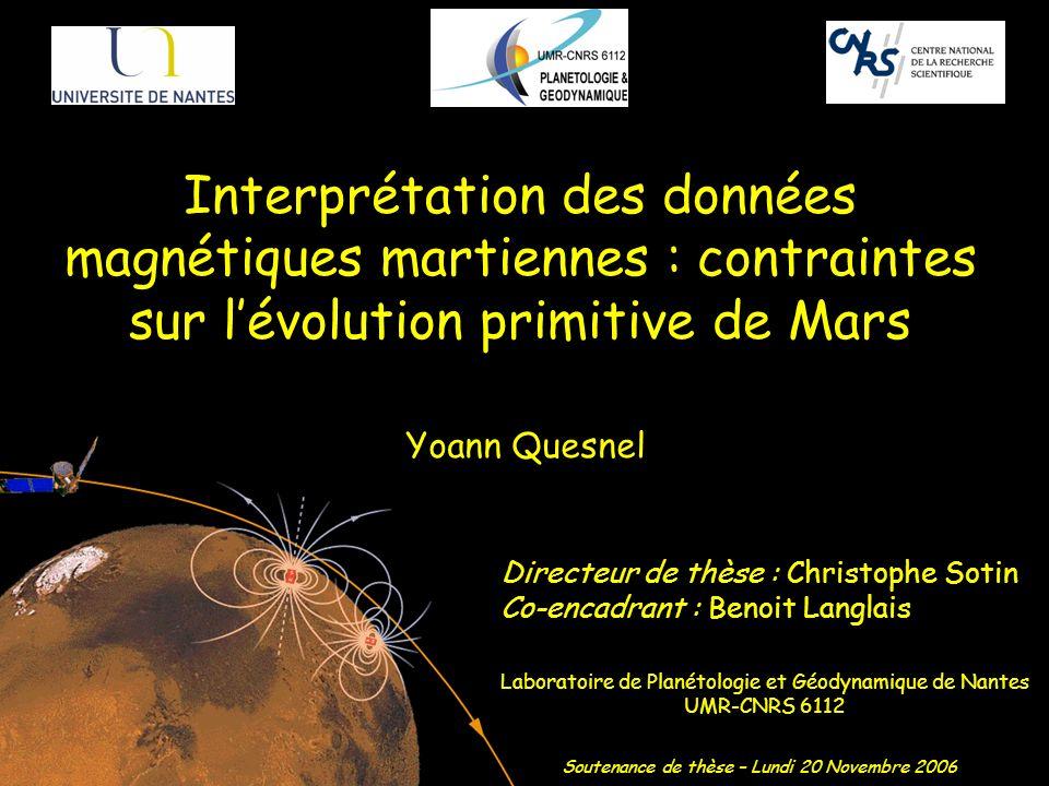 Laboratoire de Planétologie et Géodynamique de Nantes UMR-CNRS 6112