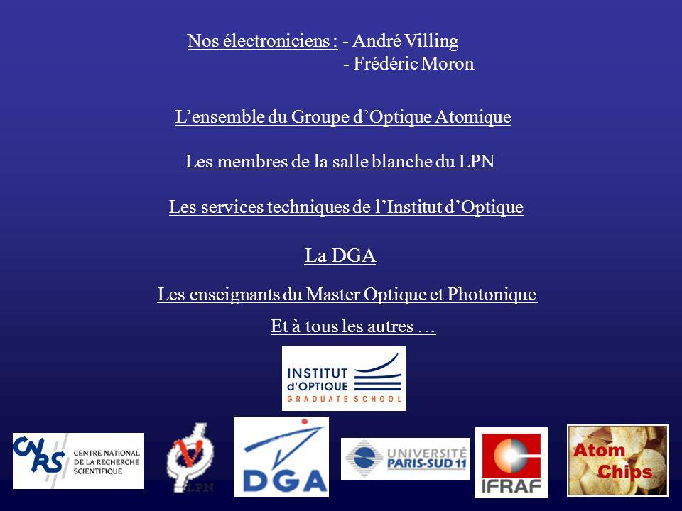 La DGA Nos électroniciens : - André Villing - Frédéric Moron