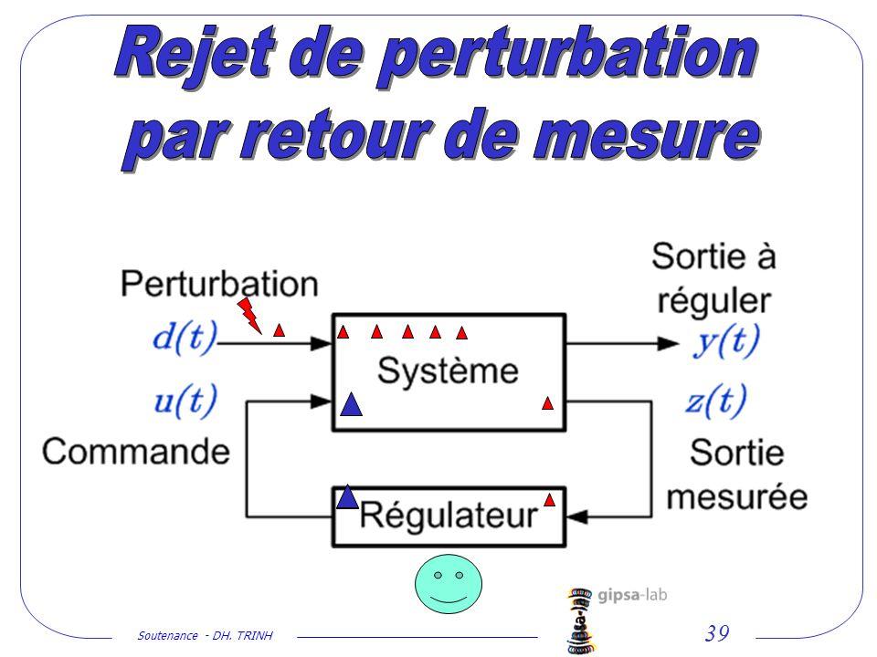 Rejet de perturbation par retour de mesure