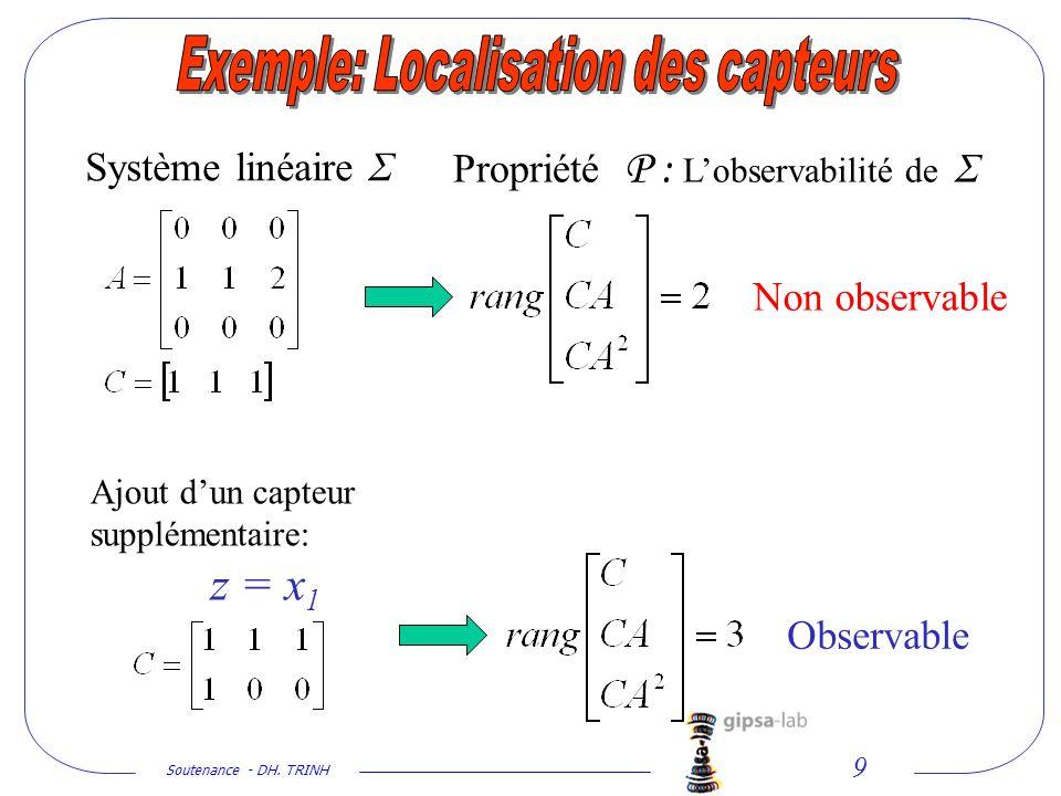Exemple: Localisation des capteurs