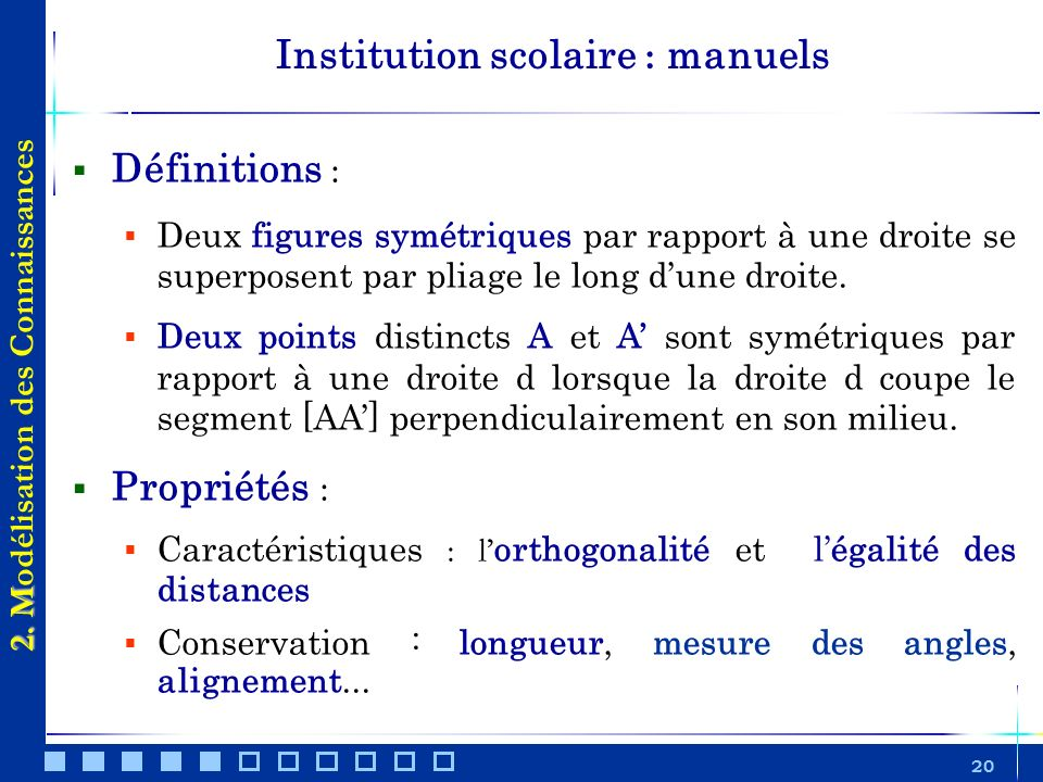 Institution scolaire : manuels