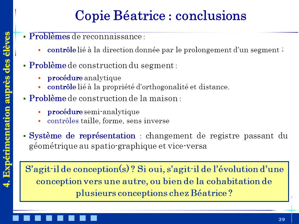 Copie Béatrice : conclusions