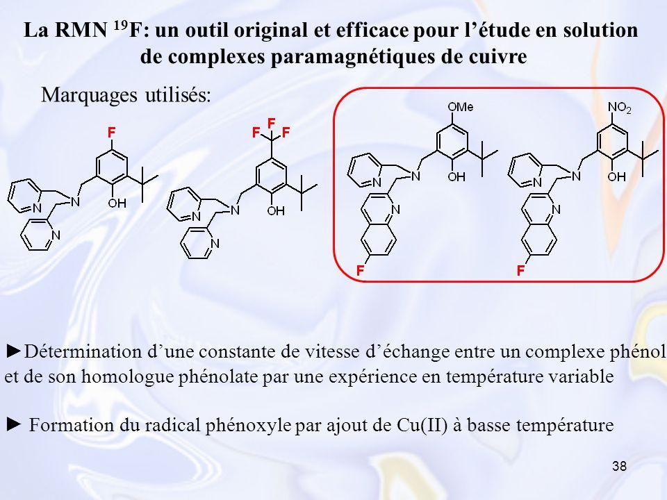 La RMN 19F: un outil original et efficace pour l'étude en solution