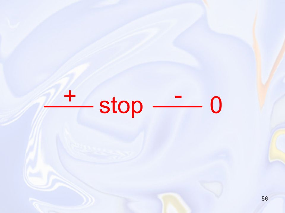 + - stop 0