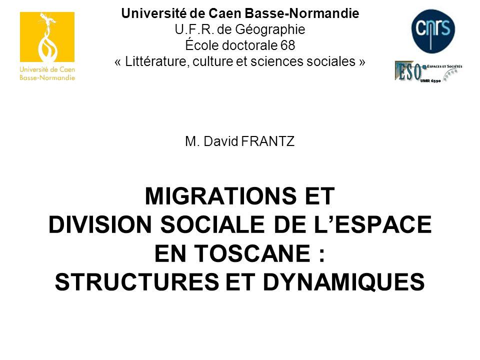 Université de Caen Basse-Normandie U. F. R