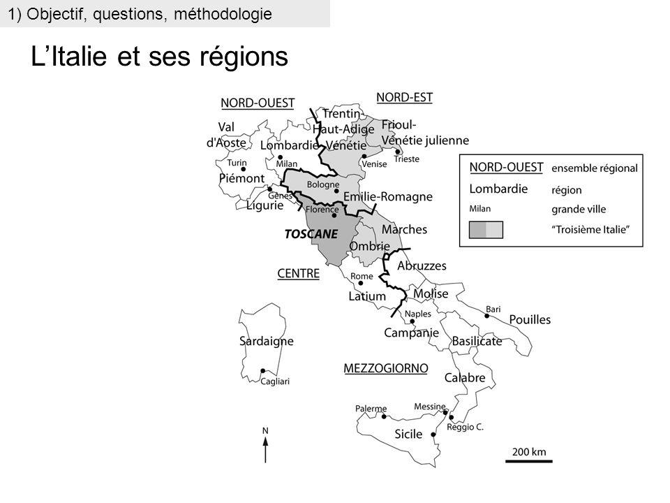 L'Italie et ses régions