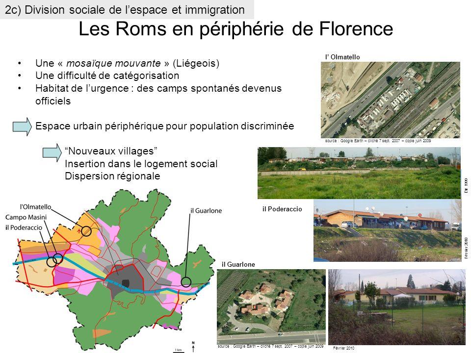 Les Roms en périphérie de Florence