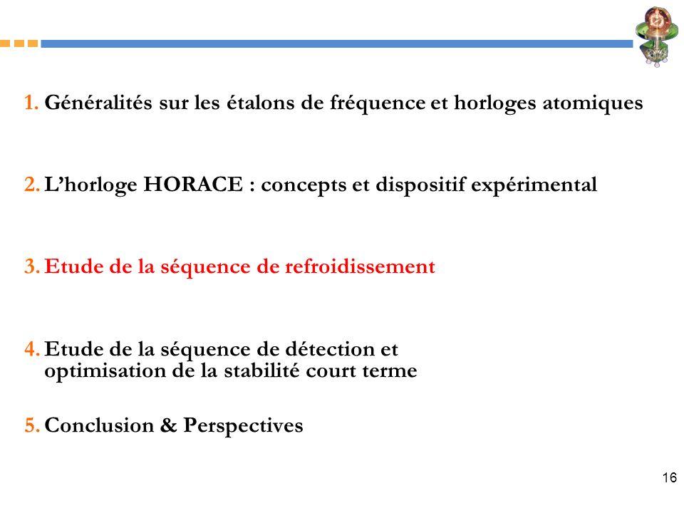 Généralités sur les étalons de fréquence et horloges atomiques