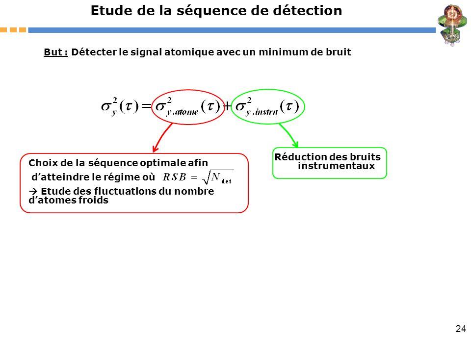 Etude de la séquence de détection