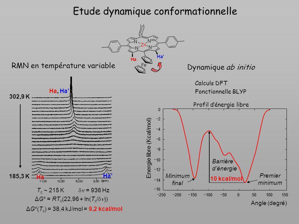 Etude dynamique conformationnelle