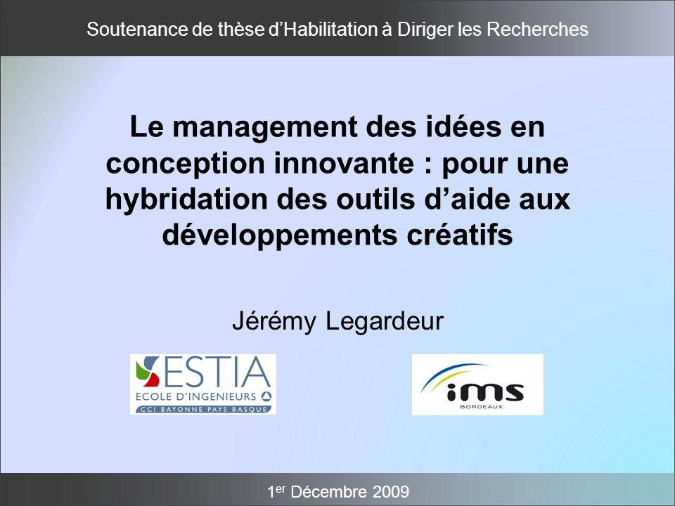 Le management des idées en conception innovante : pour une hybridation des outils d'aide aux développements créatifs