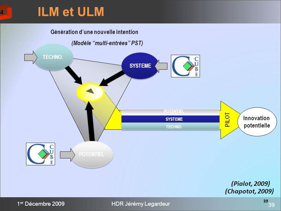 Génération d'une nouvelle intention (Modèle multi-entrées PST)