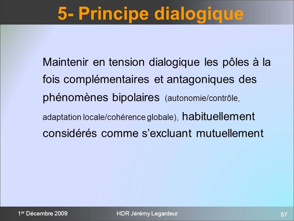 5- Principe dialogique