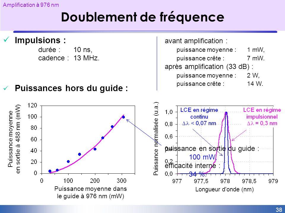 Doublement de fréquence