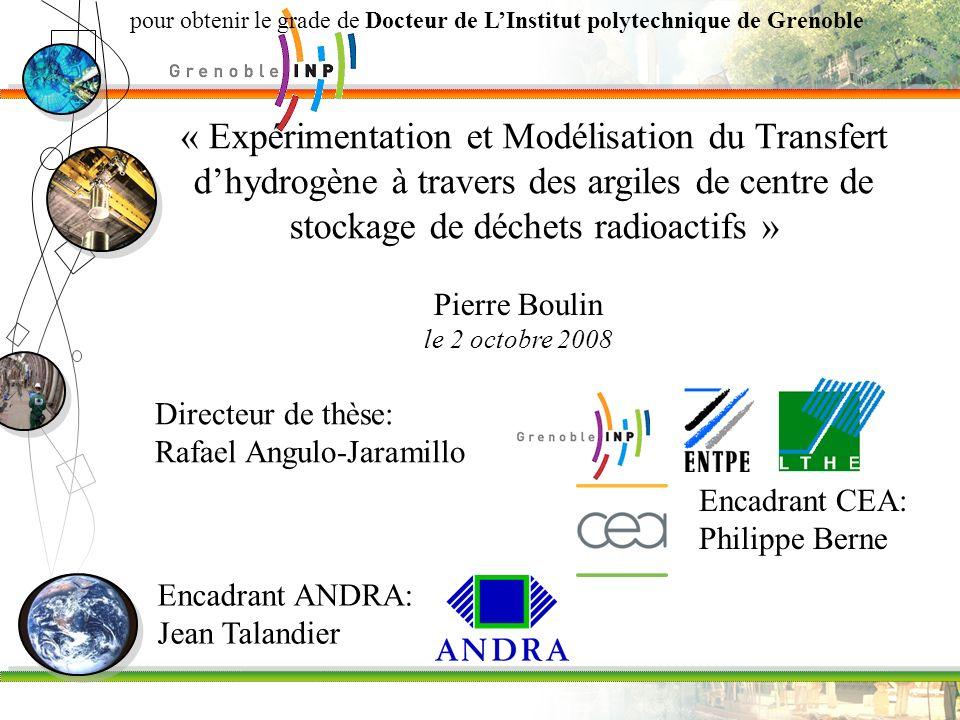 pour obtenir le grade de Docteur de L'Institut polytechnique de Grenoble