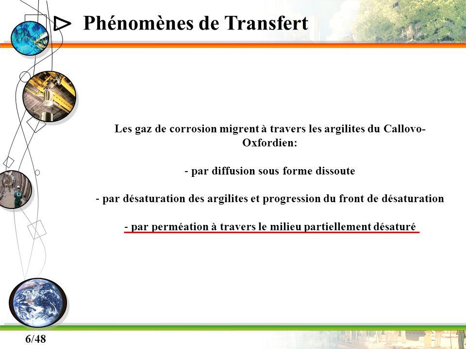 Phénomènes de Transfert