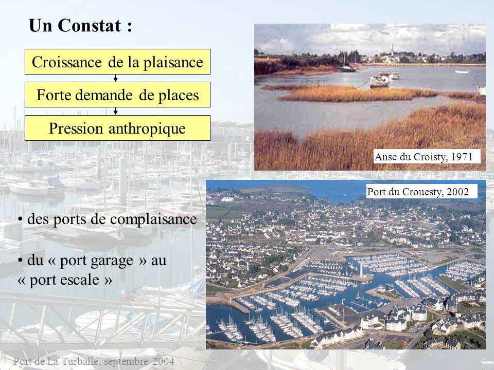 Un Constat : Croissance de la plaisance Forte demande de places