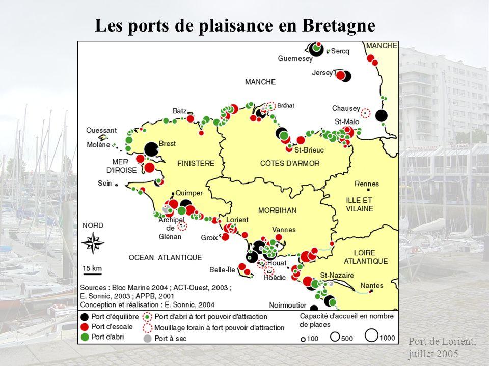 Les ports de plaisance en Bretagne