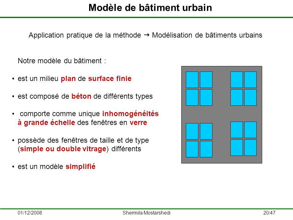 Modèle de bâtiment urbain
