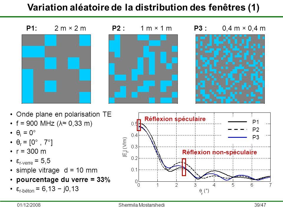 Variation aléatoire de la distribution des fenêtres (1)