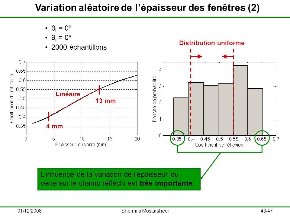 Variation aléatoire de l'épaisseur des fenêtres (2)