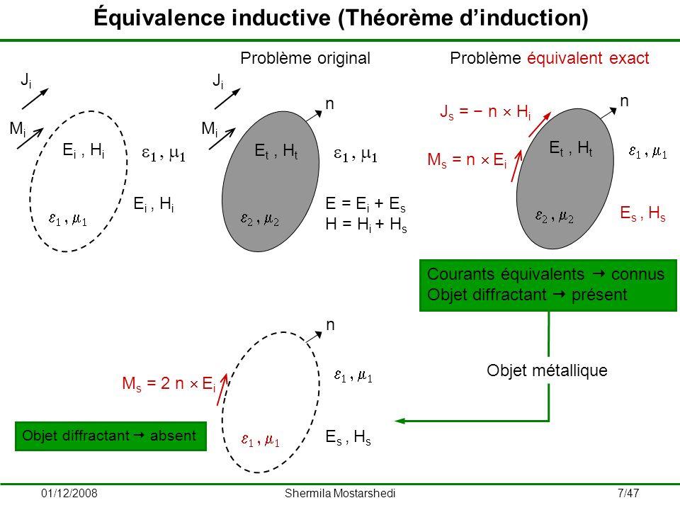 Équivalence inductive (Théorème d'induction)