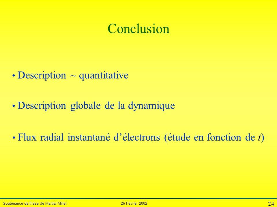 Conclusion Description ~ quantitative
