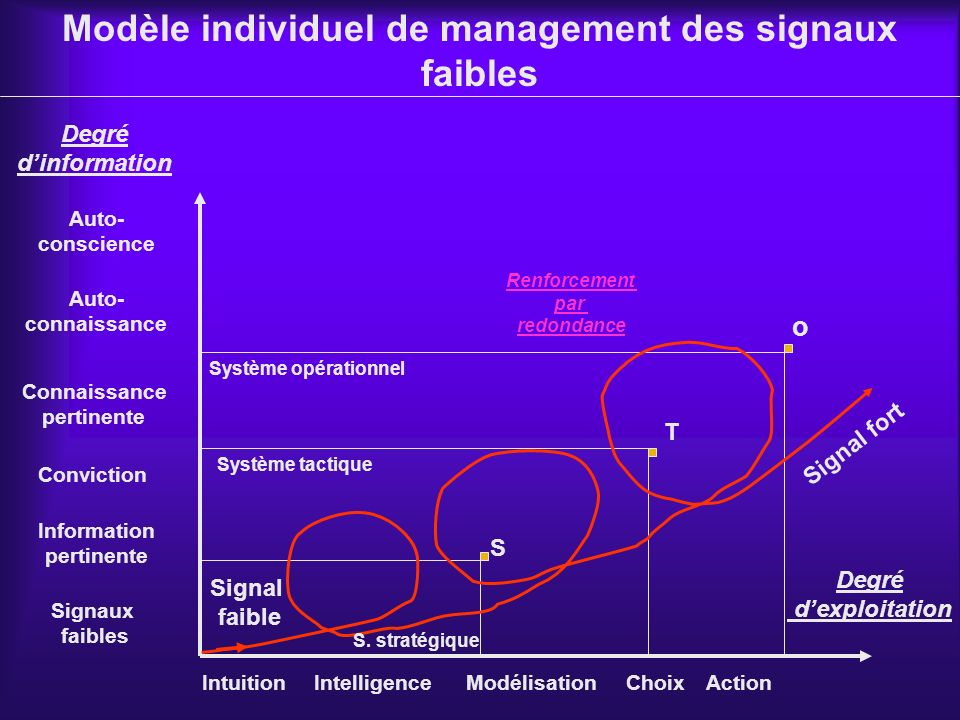 Modèle individuel de management des signaux faibles