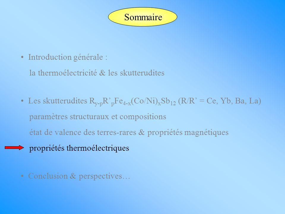 Sommaire Introduction générale :