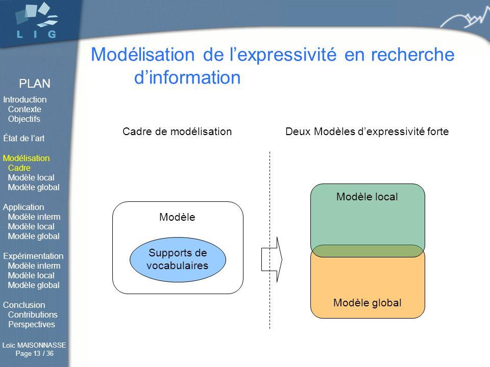 Modélisation de l'expressivité en recherche d'information