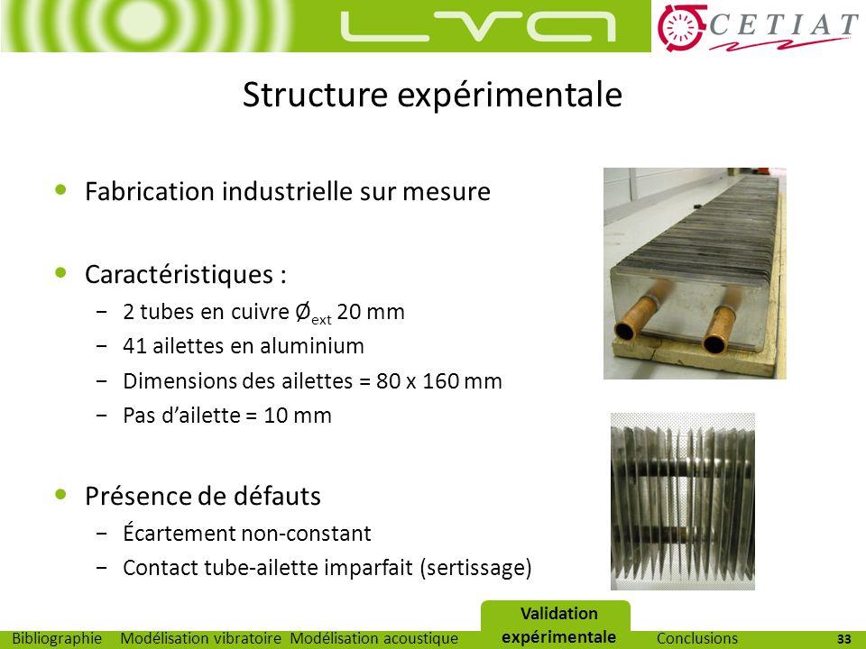Structure expérimentale