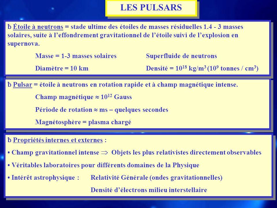 LES PULSARS