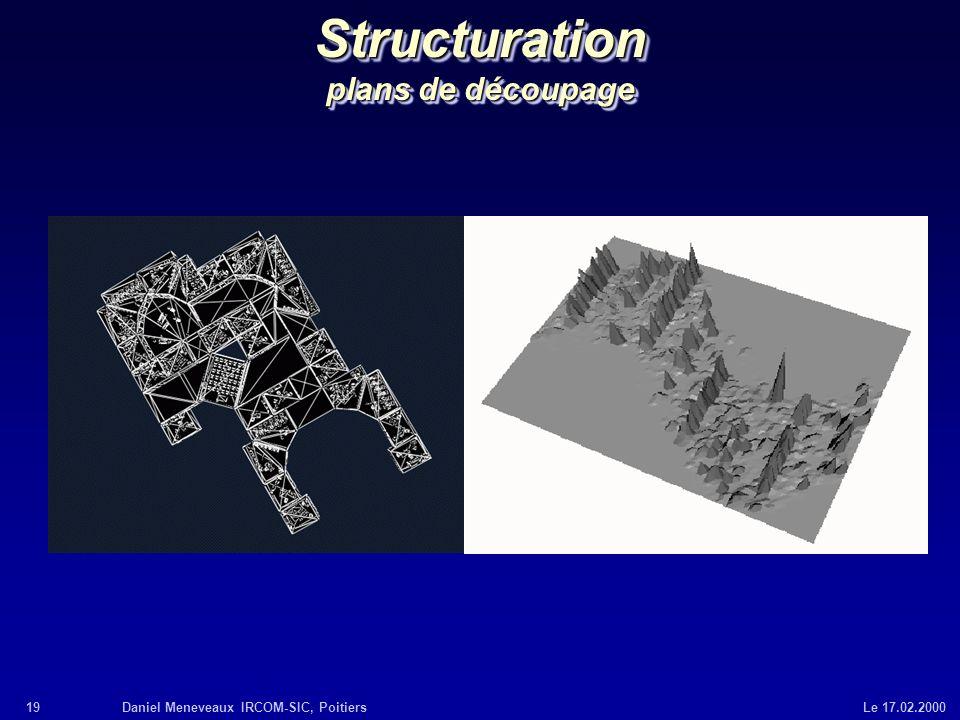 Structuration plans de découpage